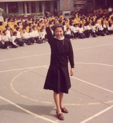 第二任校長 施麗蘭修女